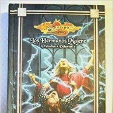 Libros: LOS HERMANOS MAJERE. PRELUDIOS DE LA DRAGONLANCE, VOL. 3. Lote 290010023