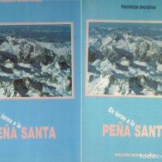 Libros: EN TORNO A LA PEÑA SANTA (OBRA COMPLETA: LIBRO + CARPETA DE PANORÁMICAS DESCRIPTIVAS) - GUILLERMO MA. Lote 290077663