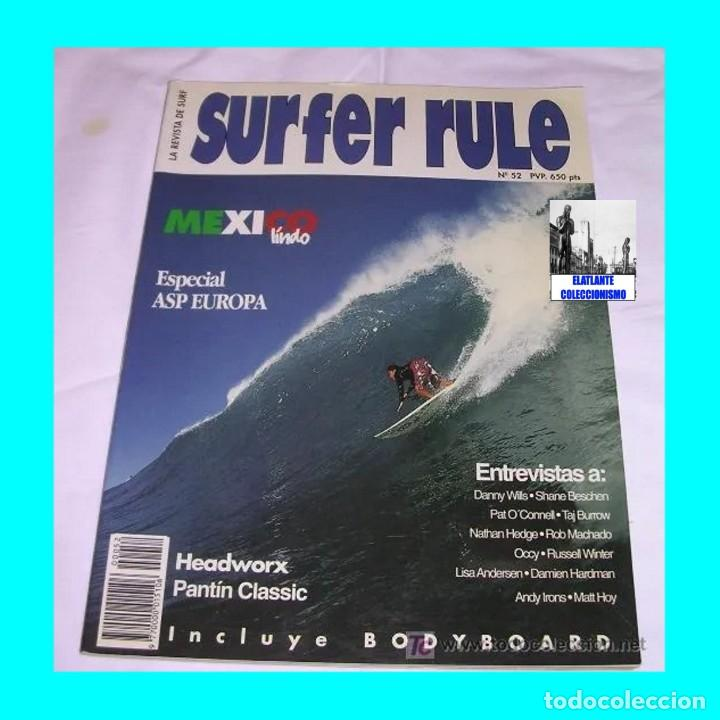 Libros: SURFER RULE - NÚMERO 52 - NOVIEMBRE - DICIEMBRE - 1998 - BUEN ESTADO - TEMA SURF - 9 EUROS FINAL - Foto 3 - 289527333