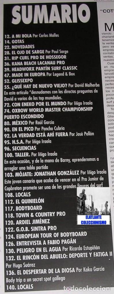 Libros: SURFER RULE - NÚMERO 52 - NOVIEMBRE - DICIEMBRE - 1998 - BUEN ESTADO - TEMA SURF - 9 EUROS FINAL - Foto 4 - 289527333