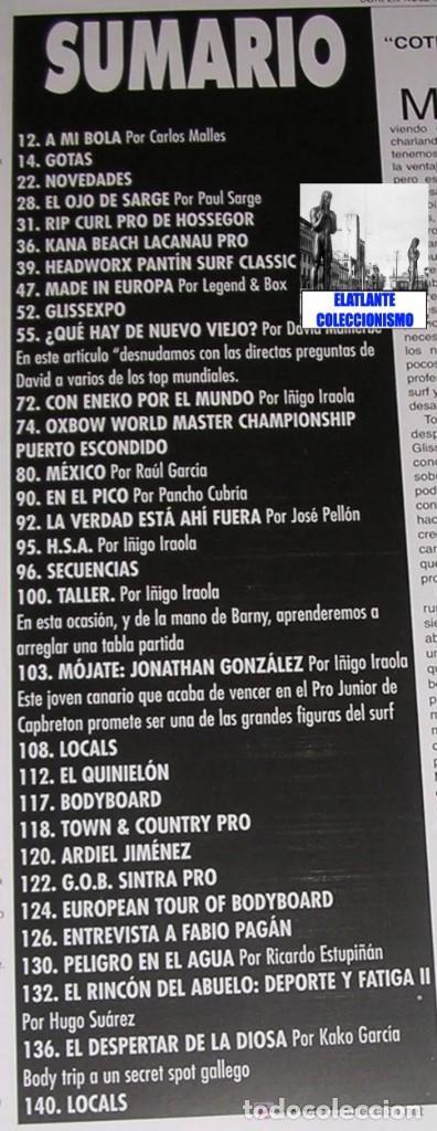 Libros: SURFER RULE - NÚMERO 52 - NOVIEMBRE - DICIEMBRE - 1998 - BUEN ESTADO - TEMA SURF - 9 EUROS FINAL - Foto 5 - 289527333