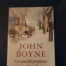 Libros: LA CASA DEL PROPOSITO ESPECIAL JOHN BOYNE CIRCULO DE LECTORES. Lote 291004658