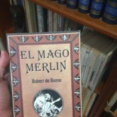 Libros: EL MAGO MERLÍN (ROBERT DE BORON). Lote 291164068
