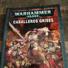 Libros: LIBRO WARHAMMER 40.000 CABALLEROS GRISES. Lote 292585323