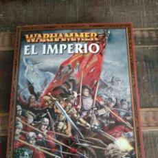 Libros: LIBRO WARHAMMER EL IMPERIO. Lote 292586303