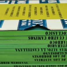 Libros: RECORRIDOS DIDÁCTICOS POR MADRID - 10 TOMOS - VV. AA.. Lote 292609933