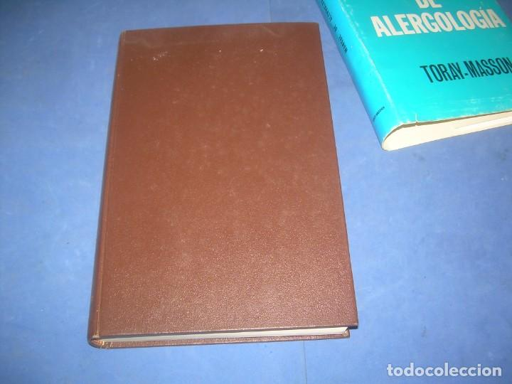 Libros: MANUAL DE ALERGOLOGÍA. THIERS. TORAY-MASSON 1966. LIBRO MEDICINA ALERGIAS - Foto 4 - 293676298