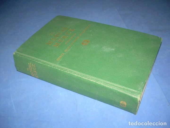 Libros: EL MANUAL MERCK DE DIAGNÓSTICO Y TERAPÉUTICA. DOHME LABORATORIOS 1968 LIBRO MEDICINA - Foto 5 - 293676403
