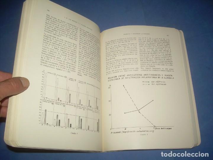 Libros: FIBROSIS Y ENFISEMA PULMONAR-TIROIDES. SOCIEDAD MEDICINA INTERNA. PONENCIAS VII CONGRESO. PAMPLONA 1 - Foto 4 - 293676503
