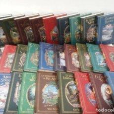 Libros: LOTE 37 LIBROS COLECCION 'GRANDES NOVELAS DE AVENTURAS' - SALVAT (PRECINTADOS). Lote 293729843