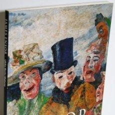 Libros: JAMES ENSOR 1860-1949 LAS MÁSCARAS, LA MUERTE Y EL MAR - BECKS-MALORNY, ULRIKE. Lote 293742728