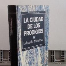 Libros: LA CIUDAD DE LOS PRODIGIOS - EDUARDO MENDOZA. Lote 293898963