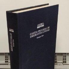 Libros: CARTAS PRIVADAS DE EMIGRANTES A INDIAS, 1540 - 1616 - ENRIQUE LOTTE. Lote 293898983