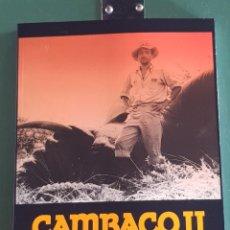 Libros: CAMBACO II. MEMORIAS DE UN CAZADOR AFRICANO. Lote 294126338