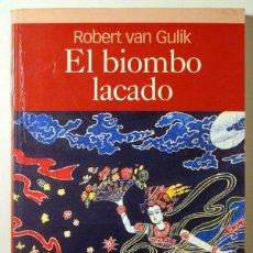 Libros: VAN GULIK, ROBERT - EL BIOMBO LACADO - BARCELONA 2005 - ILUSTRADO. Lote 294383033