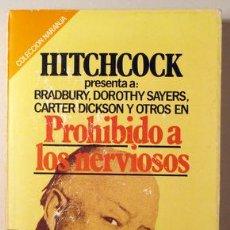 Libros: HITCHCOCK, ALFRED - PROHIBIDO A LOS NERVIOSOS - BARCELONA 1981. Lote 294383038
