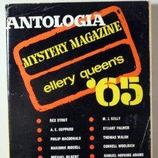 Libros: ANTOLOGÍA '65. MISTERY MAGAZINE ELLERY QUEEN'S - BARCELONA 1965. Lote 294383093