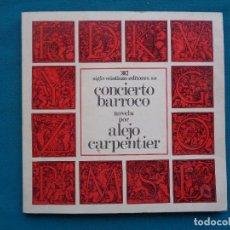Libros: CONCIERTO BARROCO, ALEJO CARPENTIER. 1976. Lote 294486253