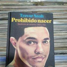Libros: PROHIBIDO NACER GREVOR NOAH. Lote 294959223