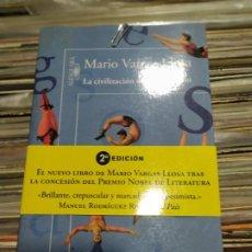 Libros: MARIO VARGAS LLOSA LA CIVILIZACION. Lote 294960158