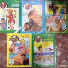 Libros: EL TROMPA, LOTE DE 5 EJEMPLARES, NUMEROS 33, 34, 35, 36, 3,. Lote 295447033