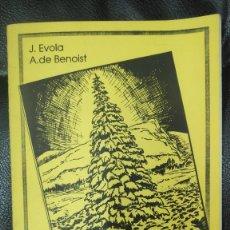Libros: LA NAVIDAD SOLAR ( JULIUS EVOLA - A. DE BENOIST ) CUADERNOS DE DIFUSION NACIONAL- REVOLUCIONARIA ). Lote 295490008