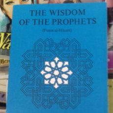Libros: FUSUS AL-HIKAM WISDOM OF THE PROPHETS. Lote 295491493