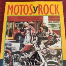 Libros: MOTOS Y ROCK. JOSÉ DÍEZ. Lote 295491903