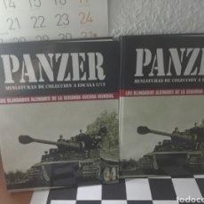 Libros: PANZER MINIATURAS DE COLECCIÓN A ESCALA . LOS BLINDADOS ALEMANES WWII . 720 PÁGINAS EN 2 TOMOS. Lote 295527388