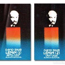 Libros: SHUB (DAVID). LENIN [TOMOS 1 Y 2, COMPLETO]. Lote 295632238