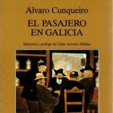 Libros: EL PASAJERO EN GALICIA - CUNQUEIRO, ÁLVARO. Lote 295695488