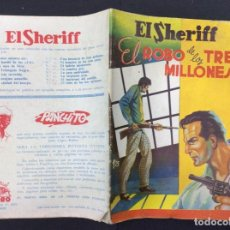 Libros: EL SHERIFF - EL ROBO DE LOS TRES MILLONES Nº 15. Lote 295807738