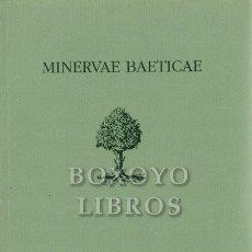 Libros: AAVV. MINERVA BAETICAE. BOLETÍN DE LA REAL ACADEMIA SEVILLANA DE BUENAS LETRAS. SEGUNDA ÉPOCA. VOL.. Lote 295812183