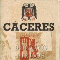 Libros: CÁCERES. PLANO GUÍA. Lote 295812213