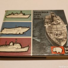 Libros: HIPPO BOOKS 1963 PASSENGER SHIPS OF THE WORLD. Lote 295873963