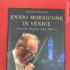 Libros: ENNIO MORRICONE IN VENICE. DELUXE EDITION. LIVE AT PIAZZA SAN MARCO.. Lote 295992818