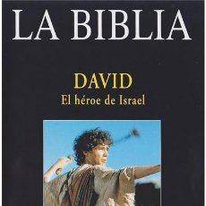 Libros: LA BIBLIA - DAVID, EL HEROE DE ISRAEL. Lote 296606193