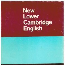 Libros: NEW LOWER CAMBRIDGE ENGLISH - LINTON STONE. Lote 296713243
