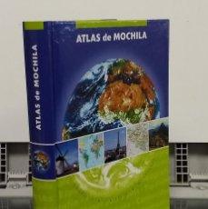 Libros: ATLAS DE MOCHILA. COMPLETO, SINTÉTICO Y MANEJABLE - VVAA. Lote 296713343