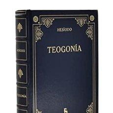 Libros: TEOGONÍA. TRABAJOS Y DÍAS ESCUDO FRAGMENTOS CERTAMEN HESÍODO PUBLICADO POR GREDOS, BARCELONA, 20. Lote 297275338