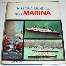 Líneas de navegación: BARJOT, PIERRE Y JEAN SALVAT - HISTORIA MUNDIAL DE LA MARINA - MADRID CONTINENTE 1965 429P PROFUSAME. Lote 26447992