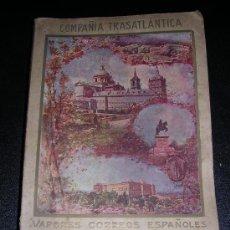 Líneas de navegación: LIBRO COMPAÑIA TRASATLANTICA ( ANTES A.LOPEZ Y CIA) VAPORES CORREOS ESPAÑOLES, LIBRO DE INFORMACION . Lote 22743252