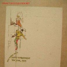 Líneas de navegación: CARTA DE MENU DEL R.M.S. CARONIA DEL AÑO 1929 CUNARD. Lote 9532696