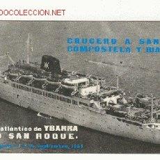 Líneas de navegación: CATALOGO ITINERARIO ,DE LA M/N CABO SAN ROQUE. Lote 28528890