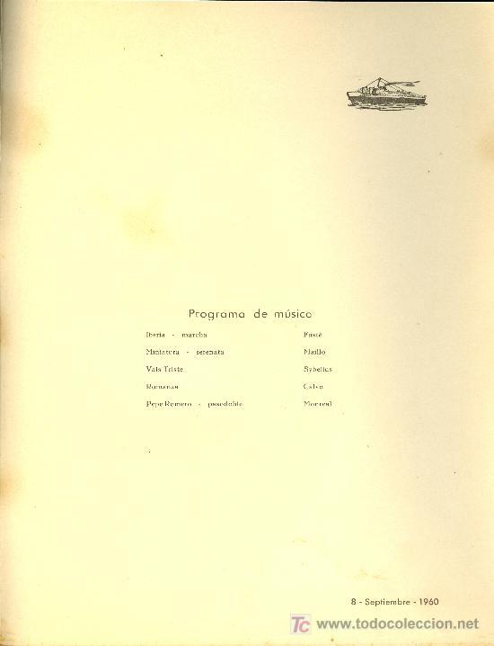 Líneas de navegación: COMPAÑIA TRASATLANTICA ESPAÑOLA. MENU. MONTANAVE COVADONGA. AÑO 1960 - Foto 3 - 21268083