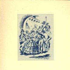 Líneas de navegación: COMPAÑIA TRASATLANTICA ESPAÑOLA. MENU. MONTANAVE COVADONGA, AÑO 1960. Lote 21268085