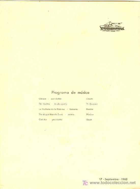 Líneas de navegación: COMPAÑIA TRASATLANTICA ESPAÑOLA. MENU. MONTANAVE COVADONGA, AÑO 1960 - Foto 2 - 10228821