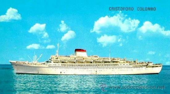 Líneas de navegación: Programa De Festejos Del Barco Cristoforo Colombo - acuarelista ALDO RAIMOINDI - Setiembre 1976 - Foto 3 - 27330514