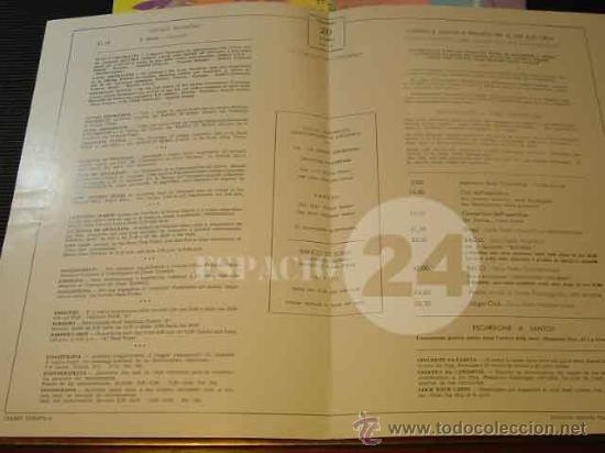 Líneas de navegación: Programa Del Dia 22 Septiembre 1976 Del Barco Cristoforo Colombo. - Foto 4 - 27515168