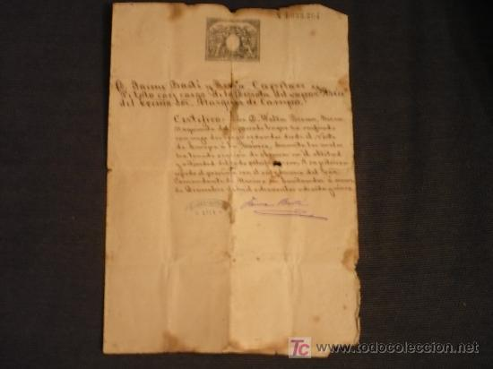 NAVEGACION-VAPOR ASIA-CERTIFICADO (Coleccionismo - Líneas de Navegación)